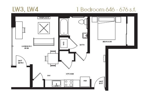 Live/Work 3-4 Floor Plan 17