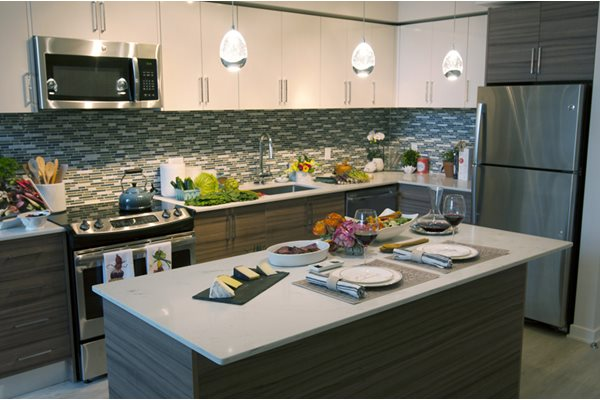 Fully Equipped kitchen at The Pearl, Silver Spring