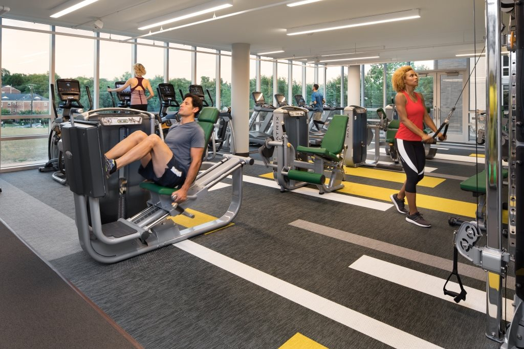 24 hour Fitness Center at The Pearl, Silver Spring, MD 20910