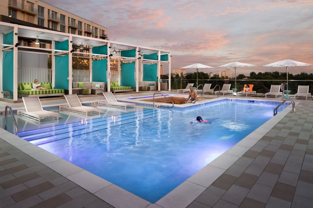 Saltwater Pool at The Pearl, Maryland, 20910