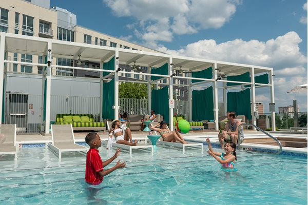 saltwater pool at The Pearl, Silver Spring, Maryland