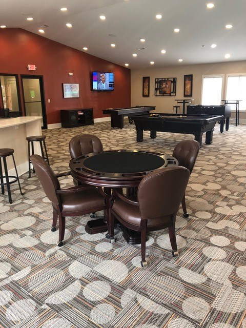 Game Room Poker Table