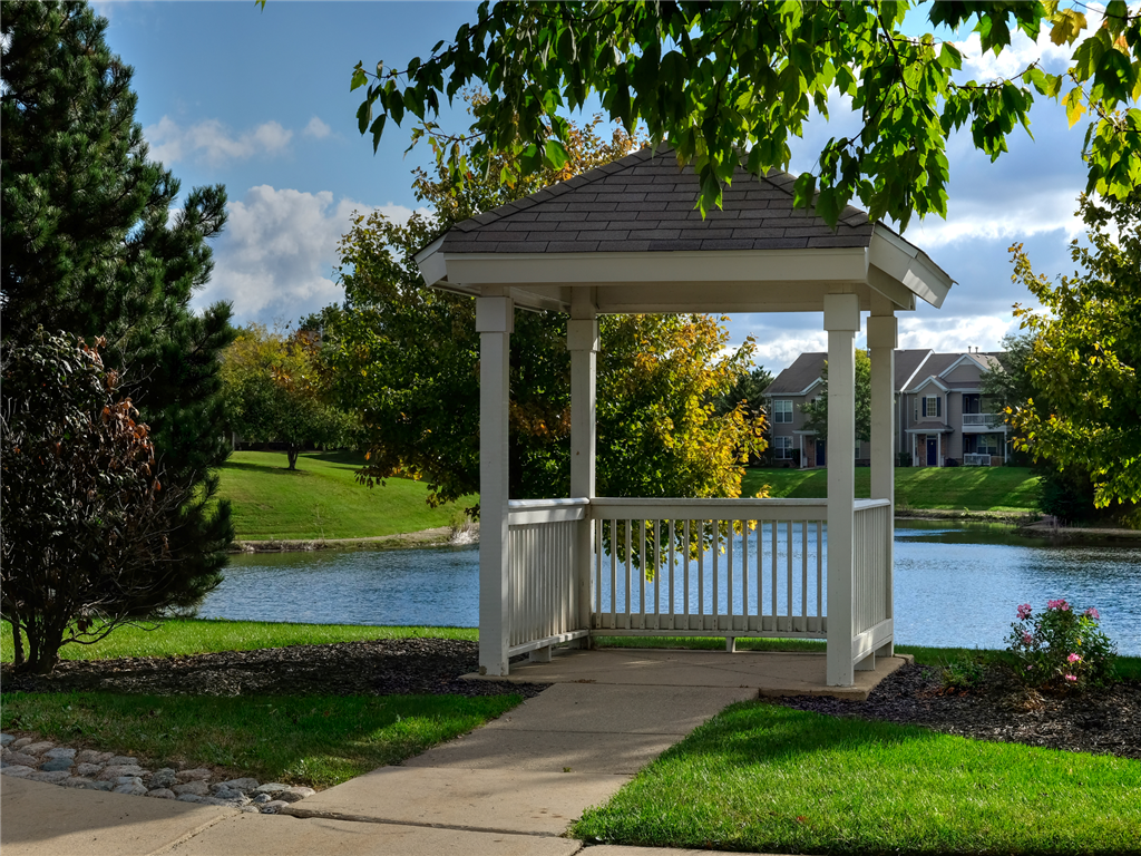 Gorgeous Grounds with Stunning Views at HighPoint Community Apartments, Romeoville, IL, 60446