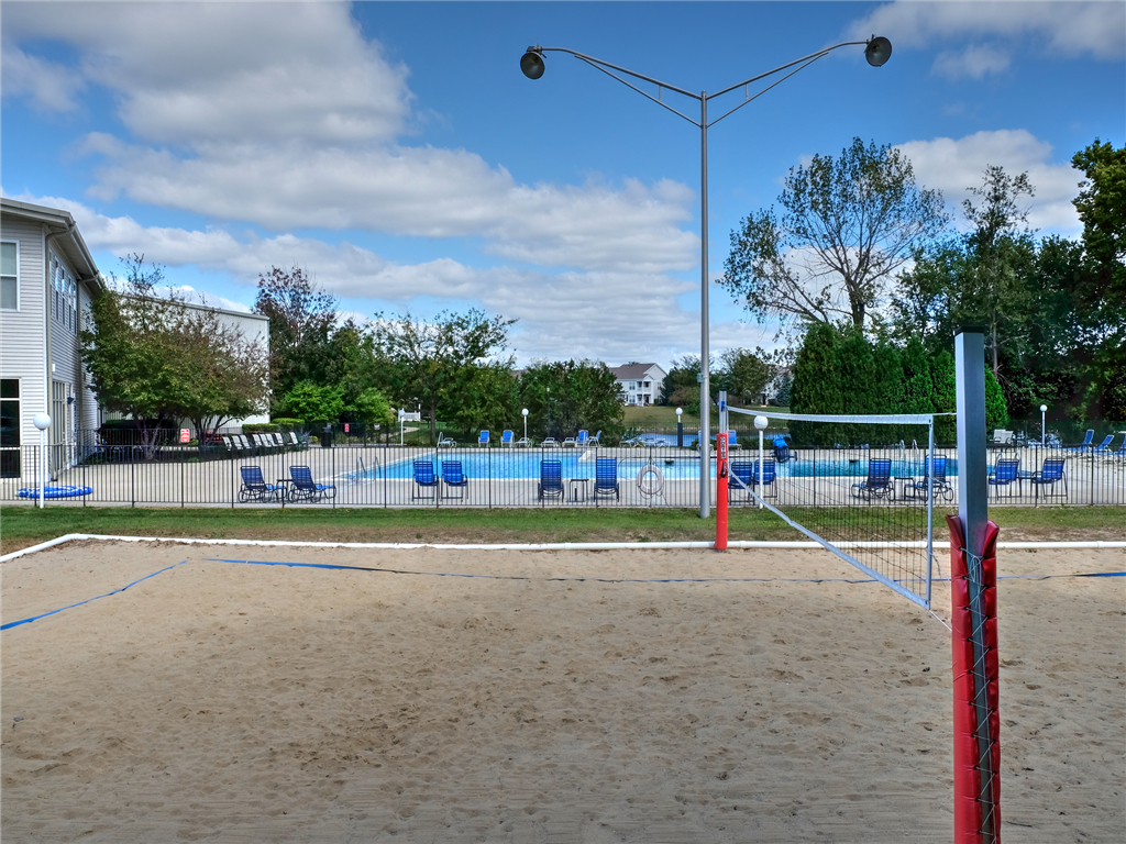 Sand Volleyball Court at HighPoint Community Apartments, Romeoville, IL, 60446