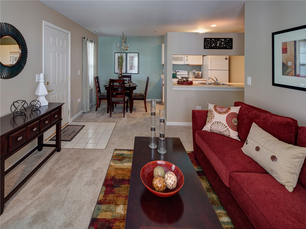Open Interior Layouts at HighPoint Community Apartments, Romeoville, IL, 60446