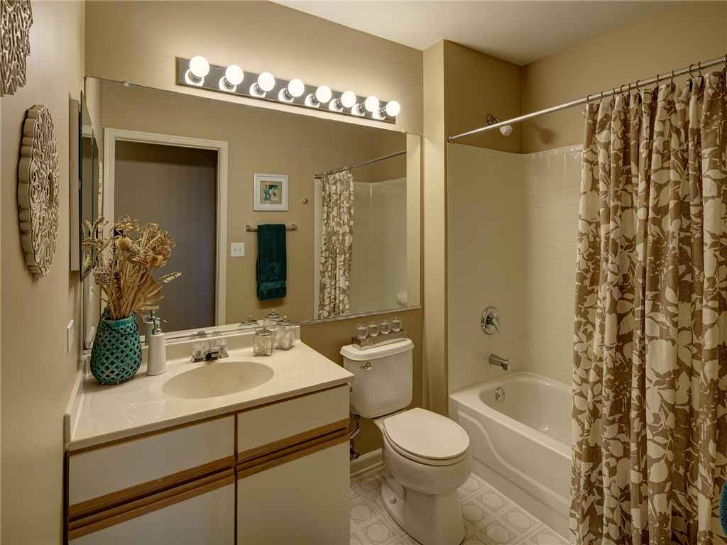 Overhead Lighting in Bathrooms at HighPoint Community Apartments, Romeoville, IL, 60446