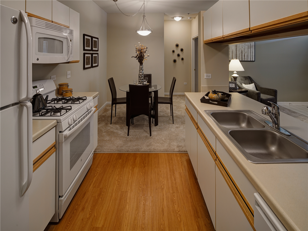 White Appliance Package at HighPoint Community Apartments, Romeoville, IL, 60446