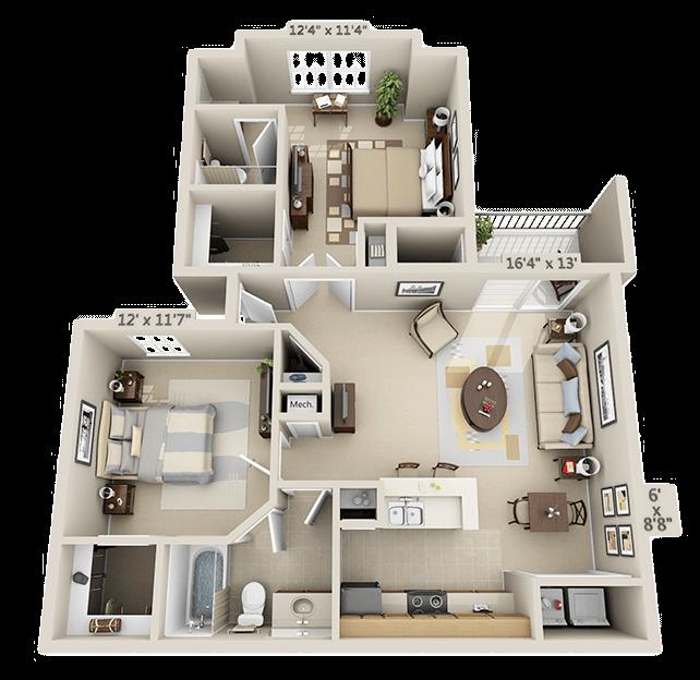 Vs Hunting Ridge Apartments: Hunter's Ridge Apartments
