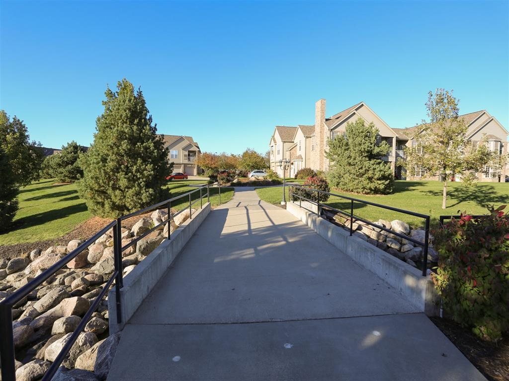 bridge at Stone Ridge Estates in Lincoln Nebraska