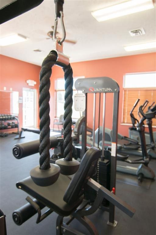 Gym at Stone Ridge Estates in Lincoln Nebraska