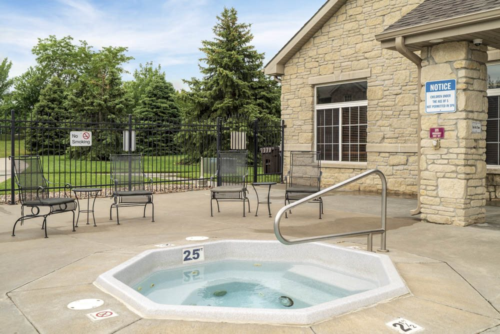 Hot tub at Stone Ridge Estates!