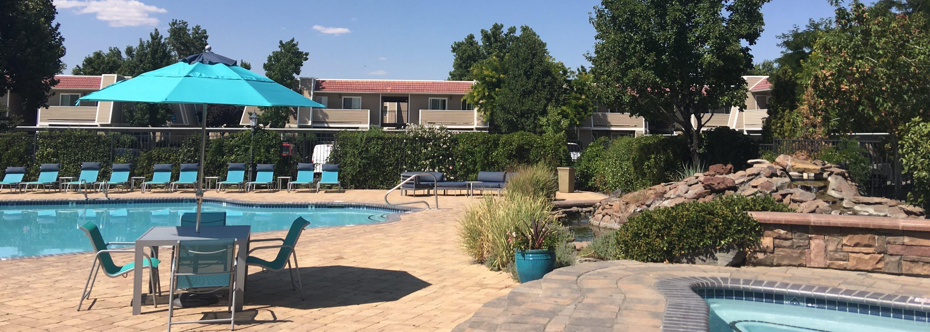 Pool and Spa at Reflections