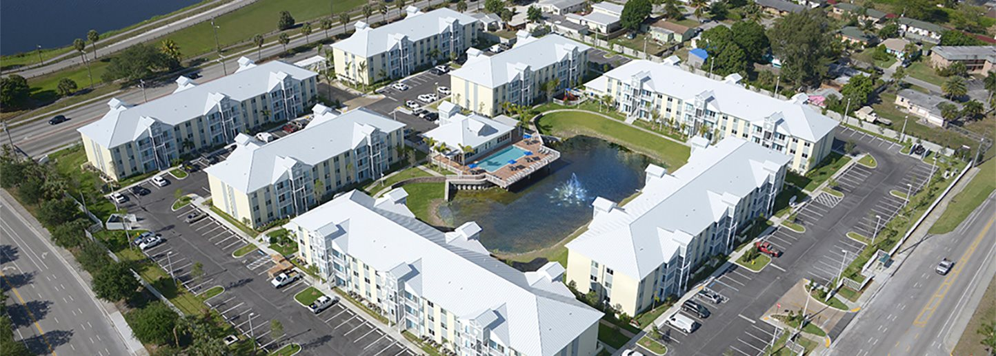 Aerial photo of Village at Lake Worth