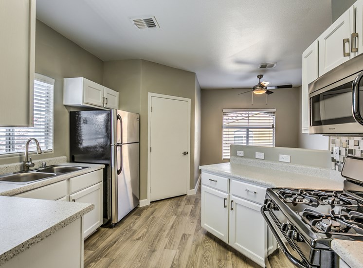 Full Equipped Kitchen at Calypso Apartments