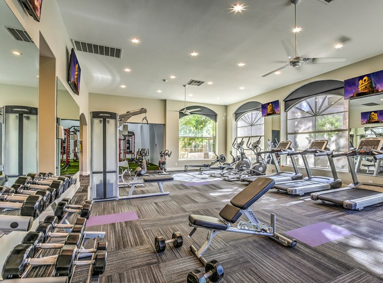 Health and Fitness Center at Calypso Apartments