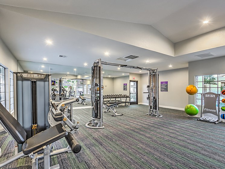 24-Hour Fitness Center-free weights, weighted machines