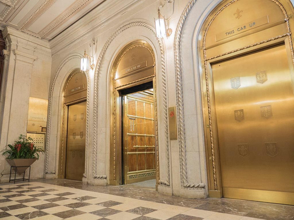 Custom Tiffany Elevators