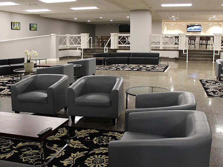 Building Amenities - Community Room at Residences at Leader, Cleveland, 44114