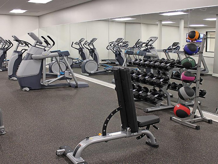 Building Amenities - Fitness Center  at Residences at Leader, Cleveland, OH, 44114