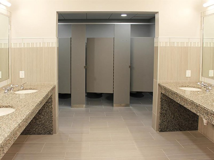 Building Amenities - Locker Room  at Residences at Leader, Cleveland, 44114