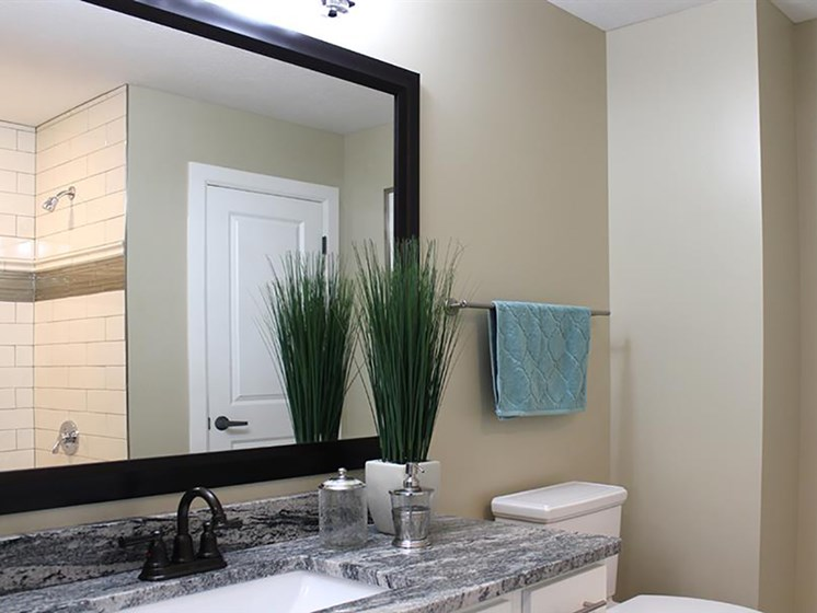 Spacious Bathrooms at Residences at Leader, Ohio, 44114