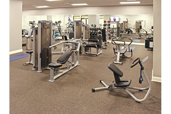 Spacious 24-Hour On-Site Fitness Center