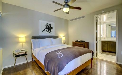 Downtown Dallas studio apartment home
