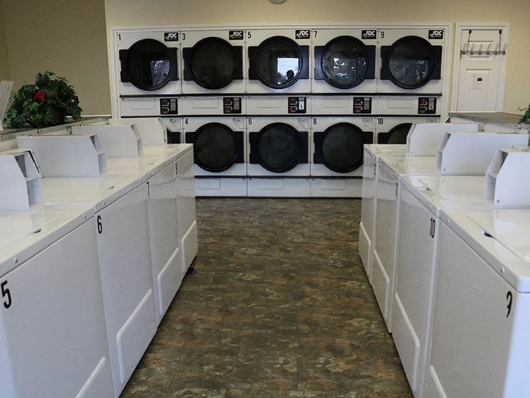 Modern Laundry Room at Dannybrook Apartments, Williamsville, 14221