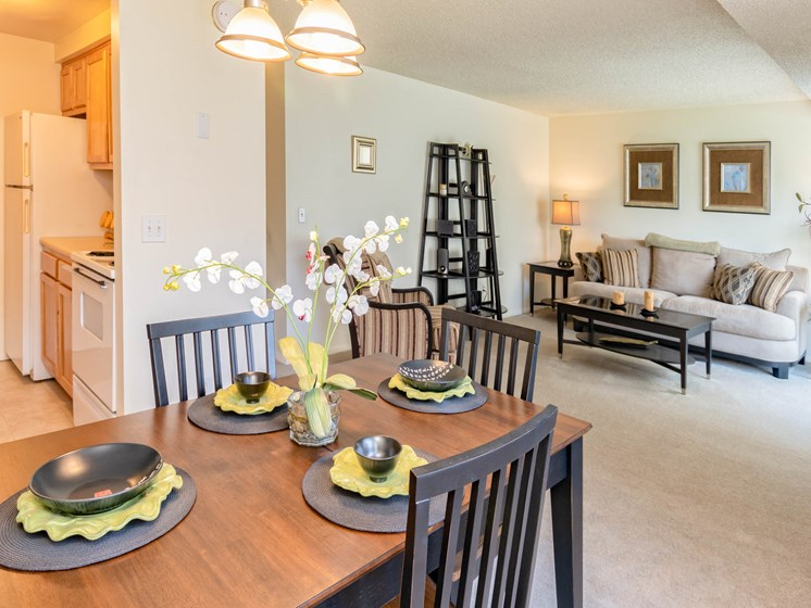 Open Floor Plan at Long Pond Shores Waterfront Apartments, Rochester, NY