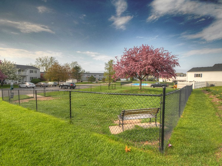 Dog Park at Long Pond Shores Waterfront Apartments, Rochester, NY