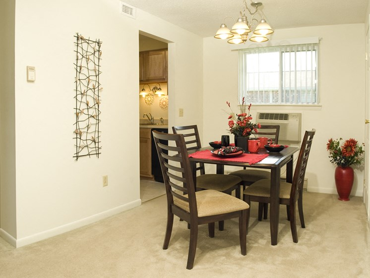 Spacious Dining Room at Bradford Manor Apartments, Hamlin, NY