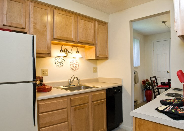 Beautiful Kitchen at Bradford Manor Apartments, Hamlin, NY