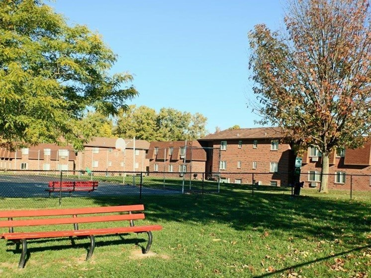 Dog Park at Chili Heights Apartments, Rochester, NY