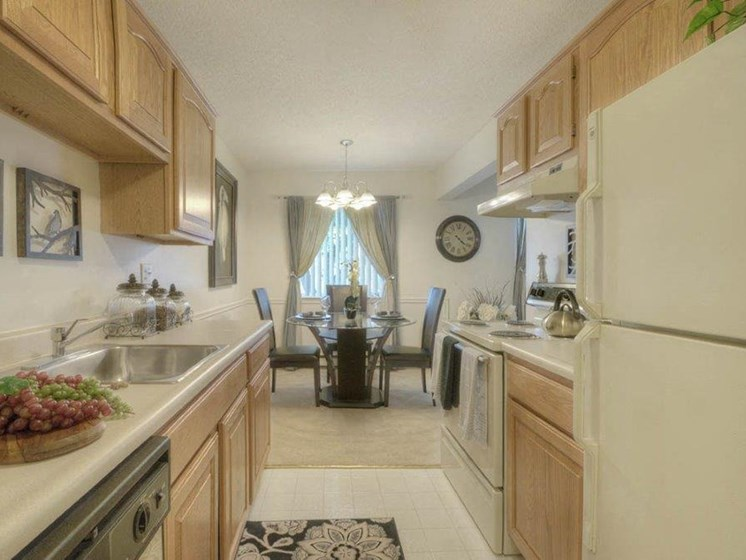 Bright Kitchen at Chili Heights Apartments, Rochester, NY