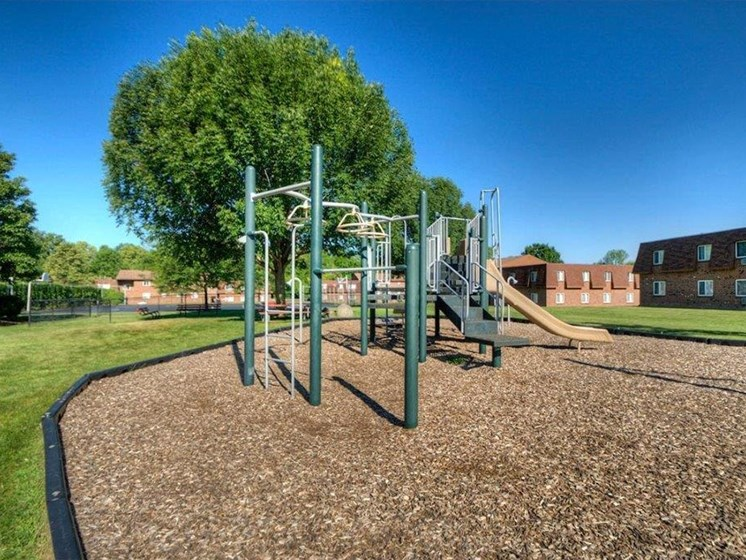 Playground at Chili Heights Apartments, Rochester, NY