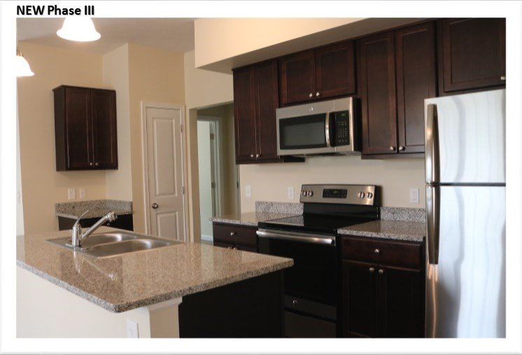 Granite Countertops at Collett Woods Townhouses, Farmington, NY 14425