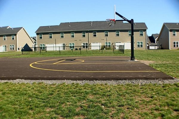 Basketball Court at Collett Woods Townhomes