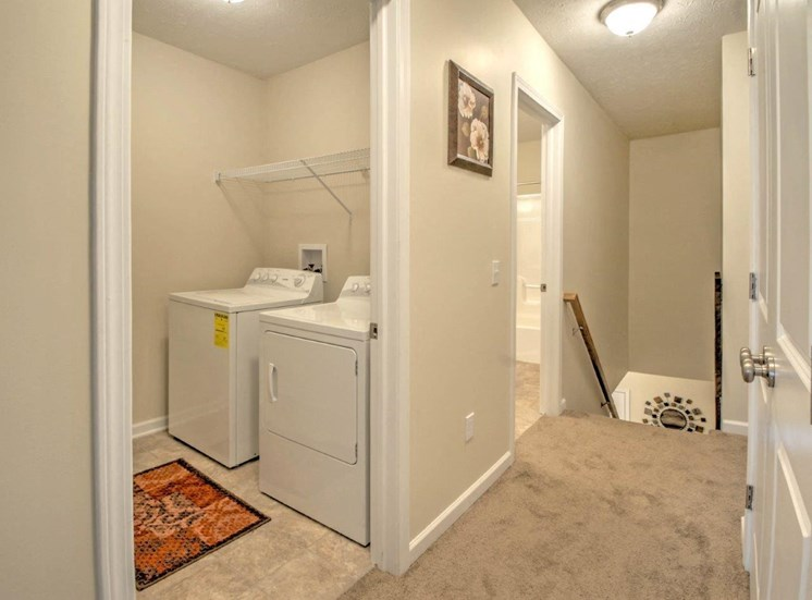Washer and Dryer Available at Collett Woods Townhouses, Farmington, NY 14425