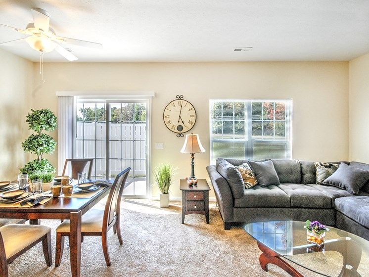 Private Patio/Balcony Available at Collett Woods Townhouses, Farmington, 14425