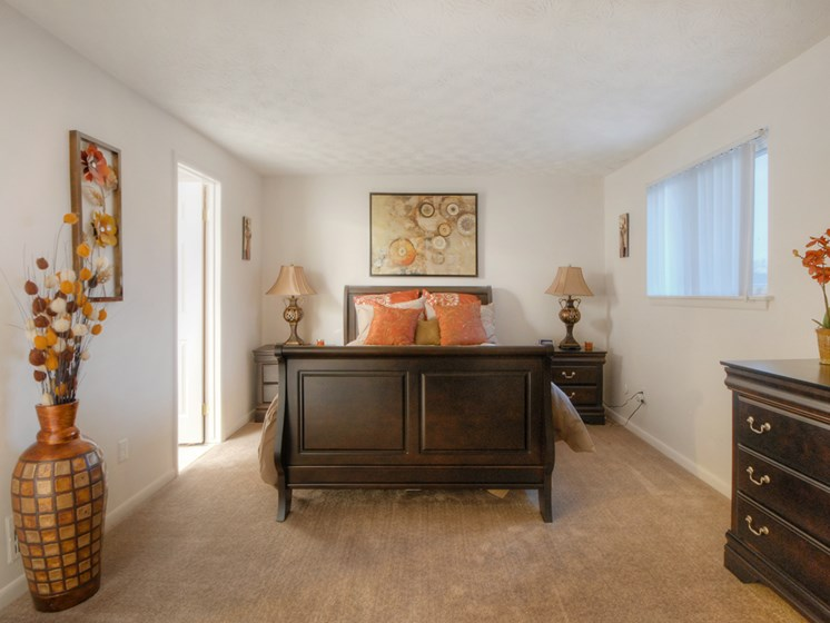Wall-to-Wall Carpeting at Collett Woods Townhouses, Farmington