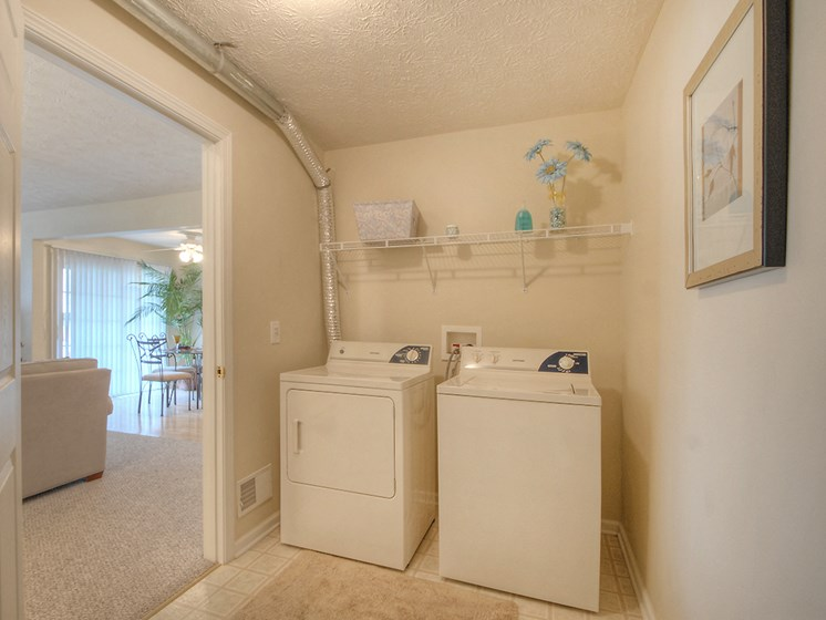 Personal Laundry Room at Fetzner Square Apartments & Townhouses, Rochester, NY