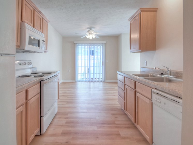 Bright Kitchen at Fetzner Square Apartments & Townhouses, Rochester, NY