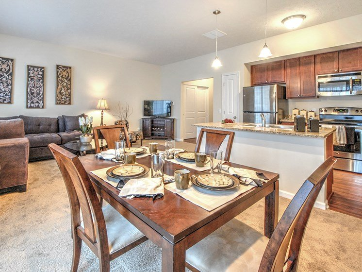 Separate Dining Area at Townhomes at Pleasant Meadows, New York