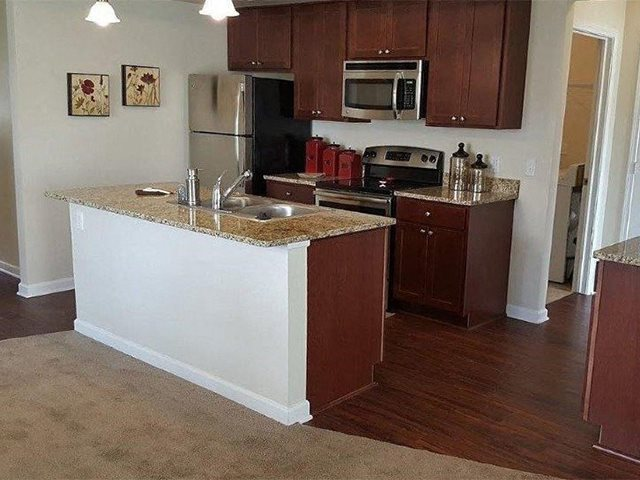 Modern Kitchen at Pleasant Meadows