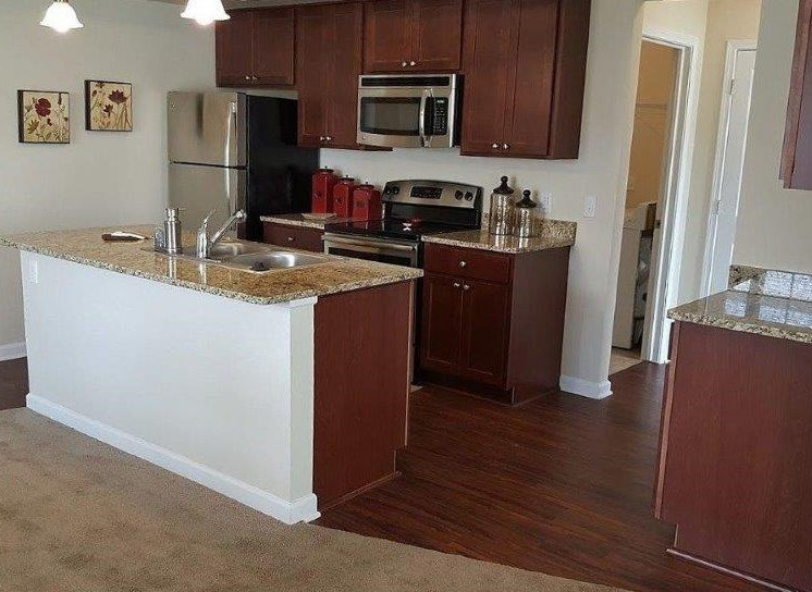 New Granite Countertops at Townhomes at Pleasant Meadows, Lancaster