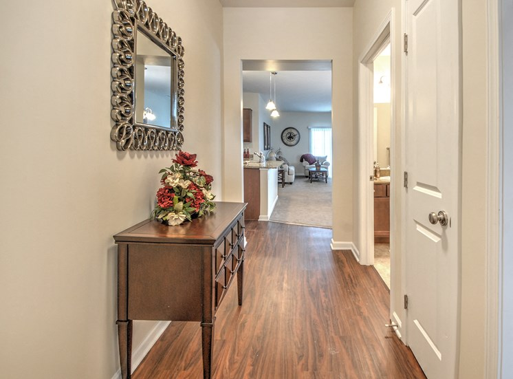 Wood Style Floors at Townhomes at Pleasant Meadows, Lancaster,New York