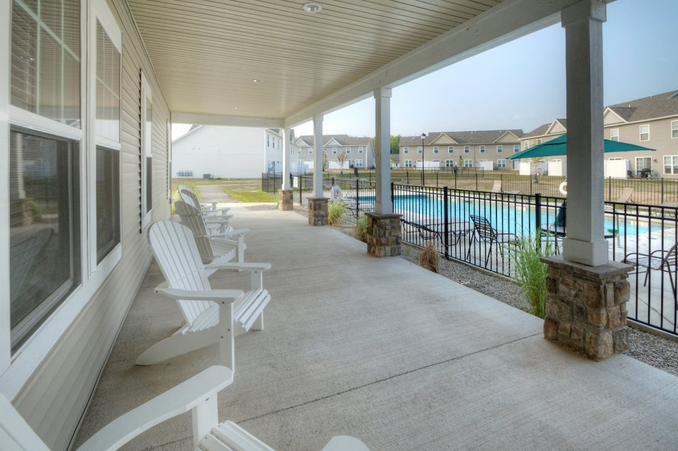Sundeck at Townhomes at Pleasant Meadows, Lancaster, NY