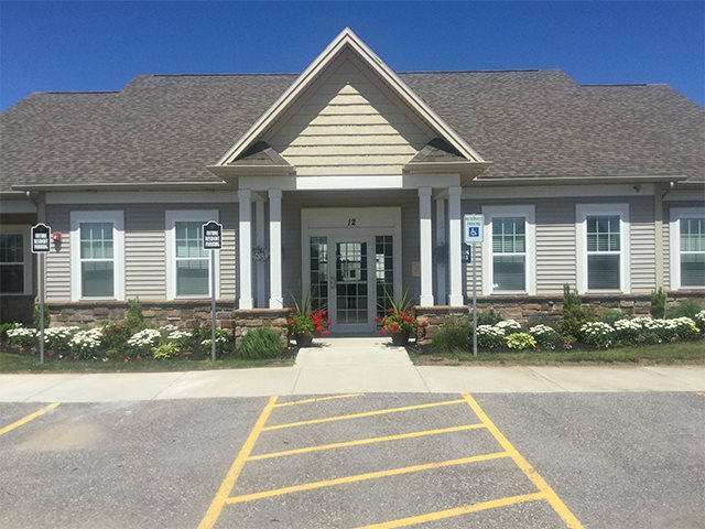 Main Entrance at Pleasant Meadows