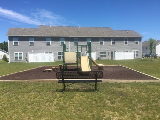 Outdoor Playground at Pleasant Meadows