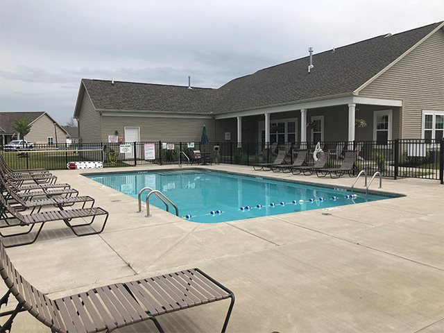 Resort-Style Pool at Pleasant Meadows